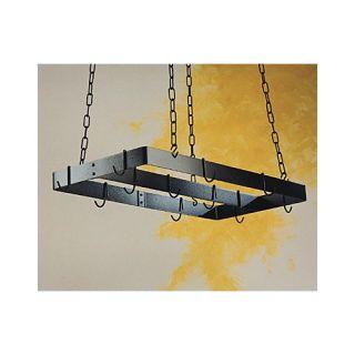 Kenroy Home Twigs Lighted Hanging Pot Rack in Bronze   90308BRZ