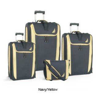 Nautica Spinnaker 4 Piece Luggage Set
