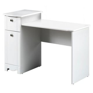 Nexera Dixie Vanity and Mirror Set in White Lacquer   310803