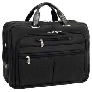 McKlein USA R Series Rockford Nylon Laptop Case in Black