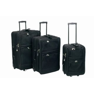 Goodhope Bags Magnum Expandable 3 Piece Luggage Set