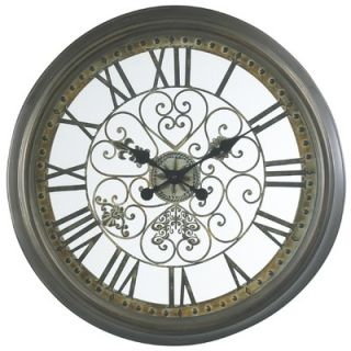 Cooper Classics Marlow Wall Clock in Aged Veridgris