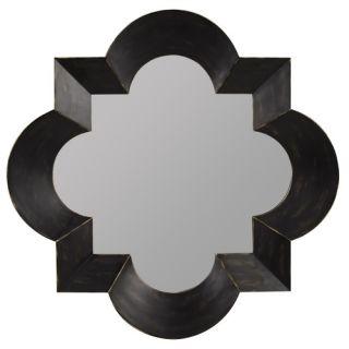Cooper Classics Kristen Wall Mirror in Black