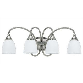 Sea Gull Lighting Montclaire Fluorescent Wall Sconce in Antique