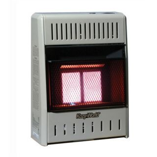 10,000 BTU Infrared Wall Space Heater