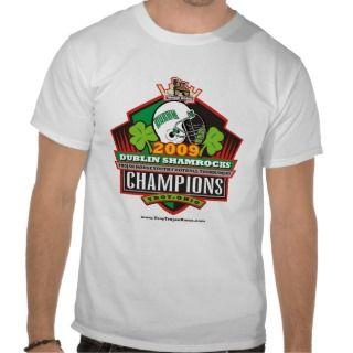 2009 Trojan Horse Champions   Dublin Shamrocks T Shirt