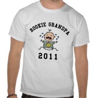 2011 Rookie Grandpa T Shirt