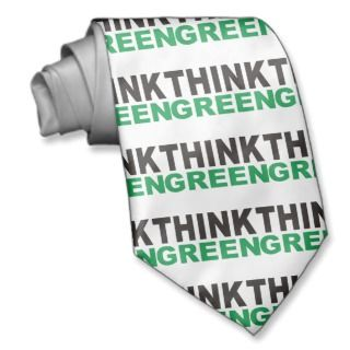 Think Green Products & Designs! Custom Ties