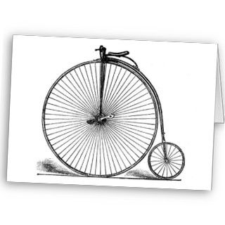 Bicycle 16 ~ Vintage Penny Farthing Cycling Bike Cards