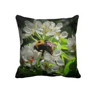 Spring Hard work side/ summer results side Throw Pillow