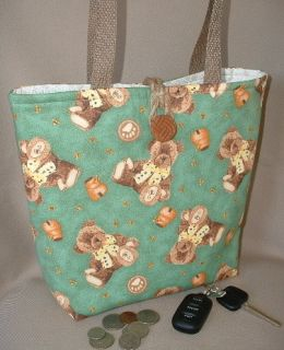 Teddy Bears Handbag Purse Lunch Tote Boyds