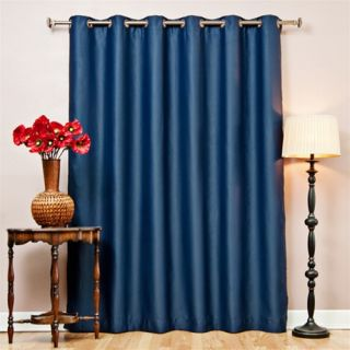 Wide Width Blackout Grommet Top Thermal Curtain 84L 1 Panel Returned