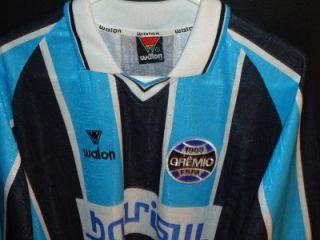 Vtg Gremio 10 Gonzalo Game Jersey Shirt Brasil Mens L