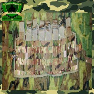 Brand New! USGI Multicam Molle II Tactical Assault Panel Army Ammo