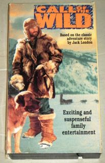 Call of The Wild VHS Movie Goodtimes Video 1976 John Beck Bernard