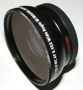 Wide Angle Lens for Canon VIXIA HF S20 S21 S30 S200