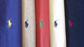 LOT OF 5  Polo by Ralph Lauren Polo Golf Rugby Shirts  Mens 2XL XXL