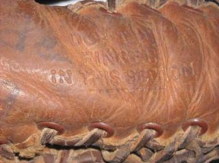 Vintage Mac Gregor Gold Smith Trapper Model G157 First Base Mitt Glove