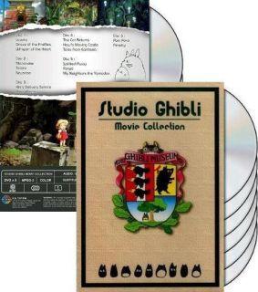 Complete 16 Movie Collection DVD English Dub USA Hayao Miyazaki