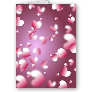 Romantic pink love heart wallpaper background pattern.