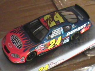 Jeff Gordon Signed Autographed Dupont 24 Car 1 24 2005