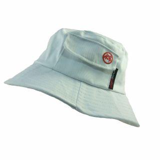 Mens Sun Hat with Handy Pocket by Urban Beach Black White Blue Green