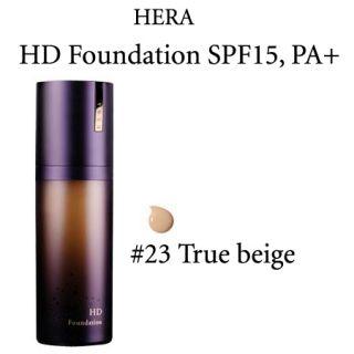 Hera HD Foundation SPF15 PA 23 True Beige