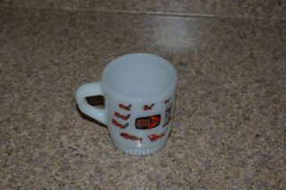 Vintage Ditch Witch Fire King Cup Mug Anchor Hocking