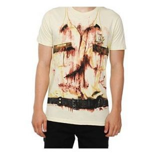 Sheriff Rick Grimes AMC The Walking Dead T Shirt Costume New Halloween