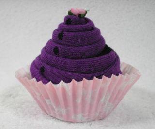 Pairs Ladies Cupcake Socks Size 4 7 Gift Boxed