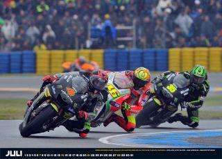 Andrea Dovizioso fährt auf der Tech3 Yamaha eine starke Saison
