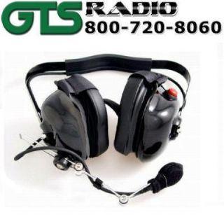 Black GS Racing Headse Headphone Radio Elecronics