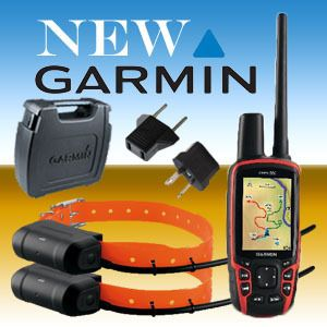 BRAND NEW GARMIN ASTRO 320 COMBO GPS + 2 x DOG TRACKING COLLARS DC40