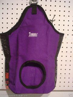 Neon Purple Hay Bag Mini Horse Tack Miniature Pony Goat
