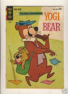 Hanna Barbera Yogi Bear 15 Gold Key Comics Silver Age