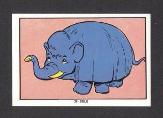 Mighty Mightor Bolo Hanna Barbera TV Cartoon Card