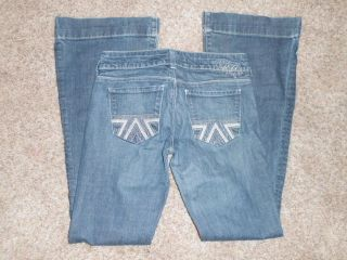 American Eagle Flare Stretch Jeans Ladies 2 Regular