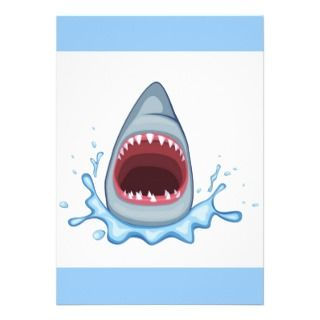 vectorstock_383155 Cartoon Shark Teeth hungry Personalized