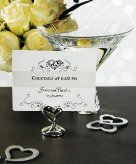 Wedding Reception Accessories SWISH HeartPlace Table Card Holders
