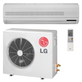 / LSN307HV LG 30,000 BTU 18 SEER Ductless Heat Pump Air Conditioner