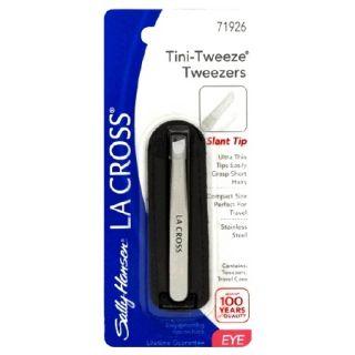 sally Hansen La Cross Slant Tip TINI Tweeze Tweezers Travel Case