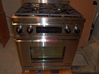 Dacor DR30D NG 30 Pro Style Freestanding Dual Fuel Range