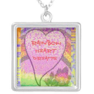 Rainbow Heart Dreams Jewelry