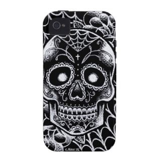 Sugar Skull Tattoo Flash iPhone 4/4S Cover