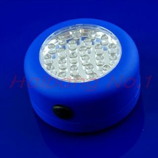 Portable Camping 24 LED Stick Up Magnetic Handy Light Lamp Torch Y1