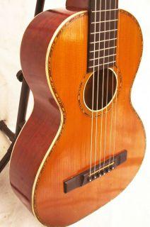 Vintage 1920s Lyon Healy Parlor Terz Guitar Tonk Bros