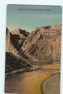 Vintage Postcards Granite Gorge Grand Canyon Arizona