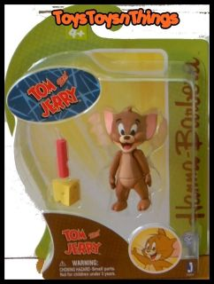 HANNA BARBERA 2012 TOM and JERRY New JERRY figure NEW 3 inch mouse 3