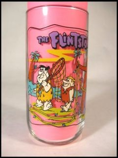 1991 Hanna Barbera The Flinstones Glass First 30 Years