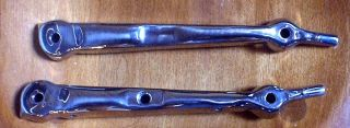 Ford Model A Deluxe Height Windshield Stanchion pair fits 30 31 open